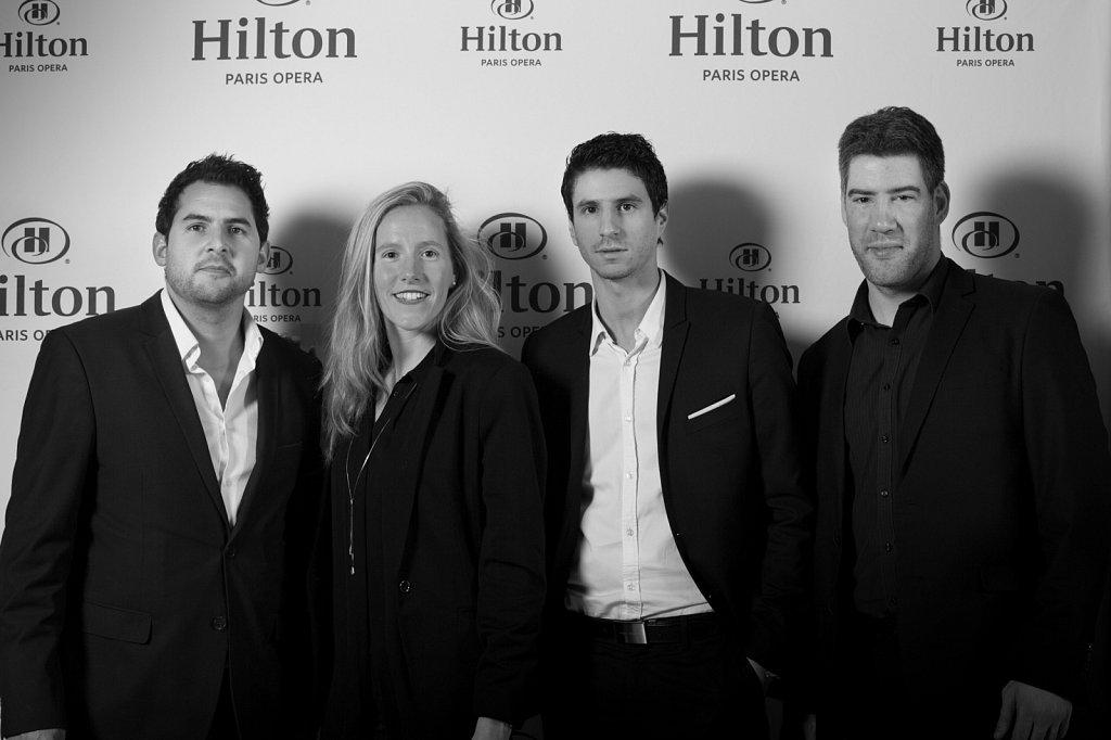 Soirée Fashionweek Hilton Paris